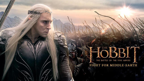 The hobbit: The battle of the five armies. Fight for Middle-earth icono