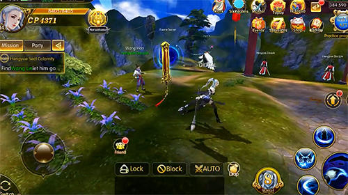 Legend of wuxia: 3D MMORPG für Android