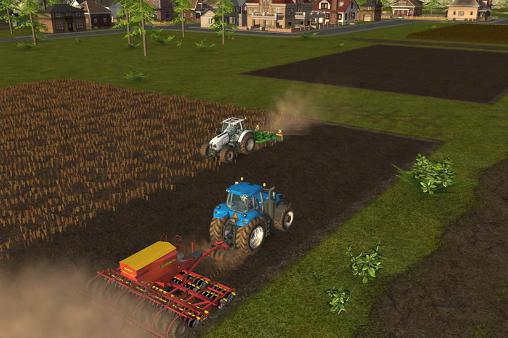 Management games Farming simulator 16 in English