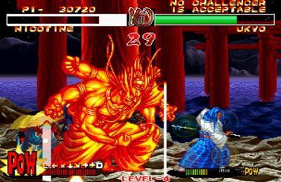 Screenshot Samurai Kampf 2 auf dem iPhone