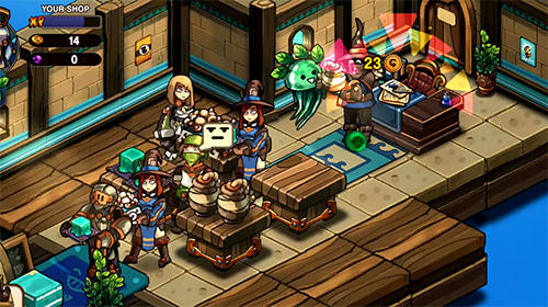 Tiny shop: Cute rpg store für Android