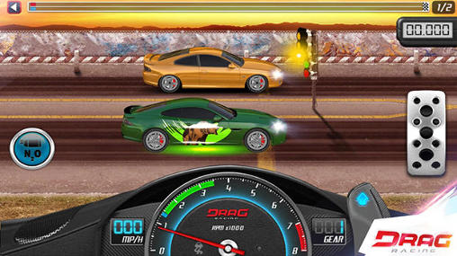 Corridas Drag racing: Club wars para smartphone