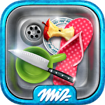 Hidden objects. Messy kitchen 2: Cleaning game icon