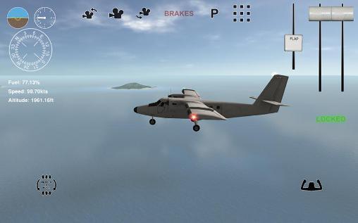 Island bush pilot 3D für Android