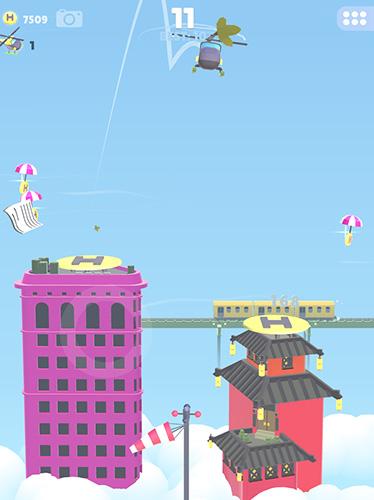 Hubschrauber-Spiele Helihopper auf Deutsch