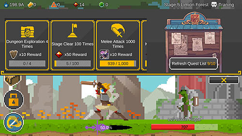 Ego sword: Idle sword clickercapturas de pantalla