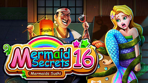Mermaid secrets16: Save mermaids princess sushi скріншот 1