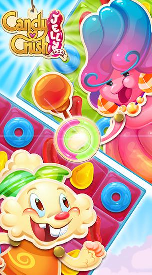 Candy crush: Jelly saga скріншот 1