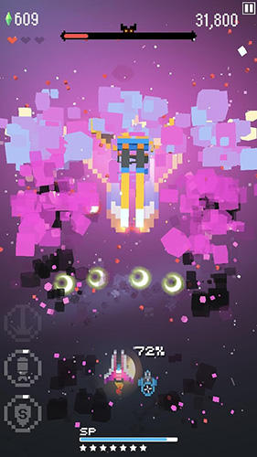 Retro shooting: Pixel space shooter para Android