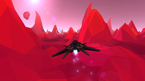 Arcade-Spiele Polyrunner VR für das Smartphone