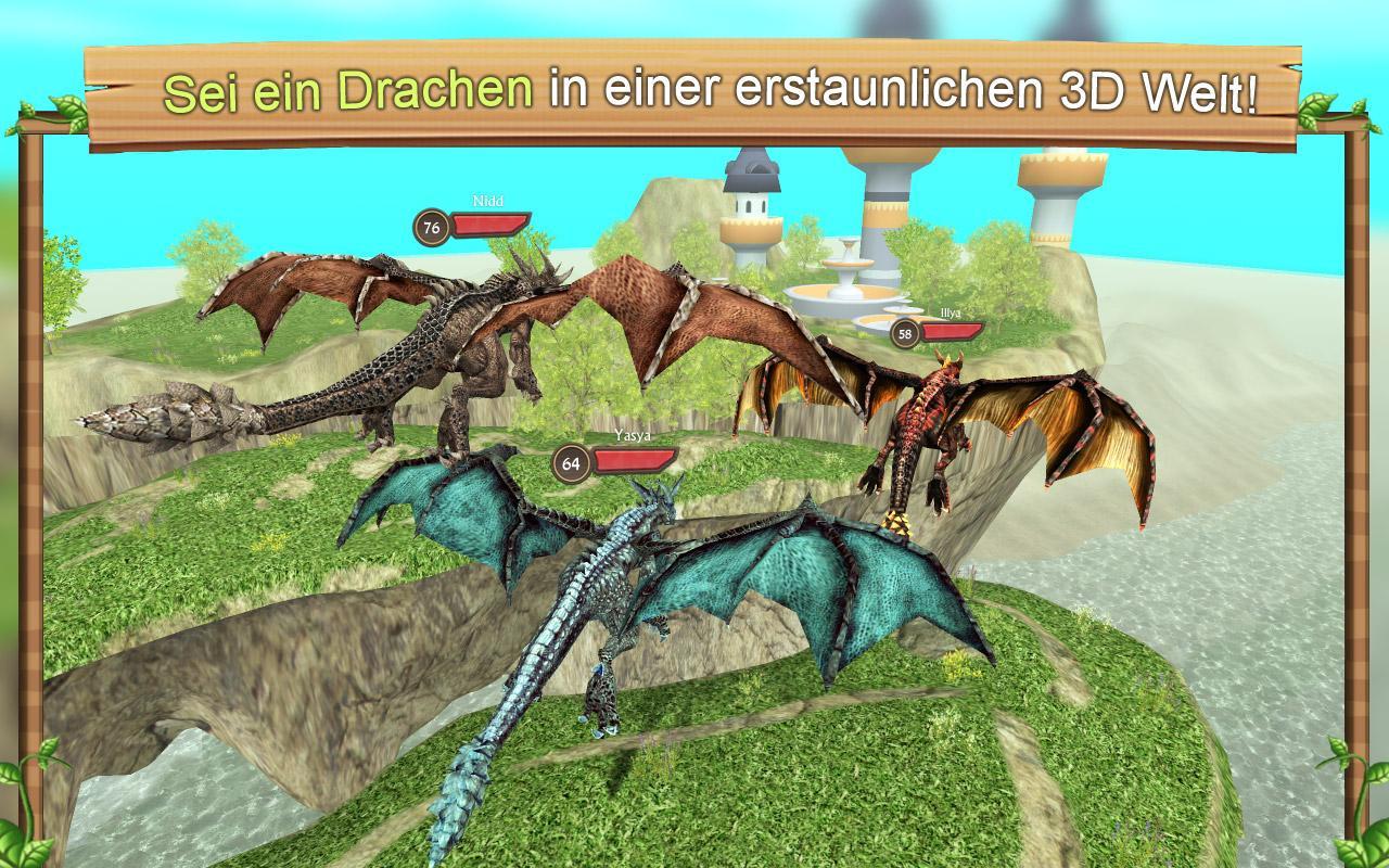 Dragon Sim Online: Be A Dragon screenshot 1