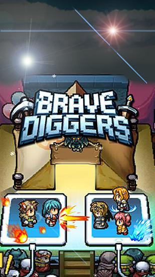 Brave diggers Symbol