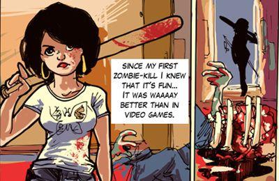 Arcade-Spiele: Lade Zombie haben mein Baby gegessen auf dein Handy herunter