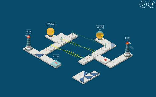 Logikspiele Light house für das Smartphone