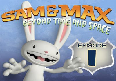 logo Sam & Max Beyond Time and Space. Episode 1.  Ice Station Santa