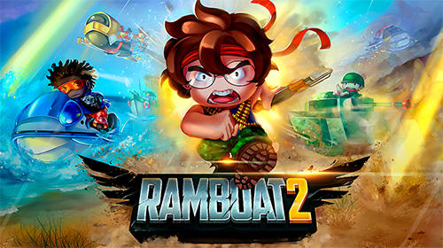 Ramboat 2: Soldier shooting game Screenshot