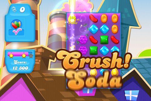 Candy crush: Soda saga英语