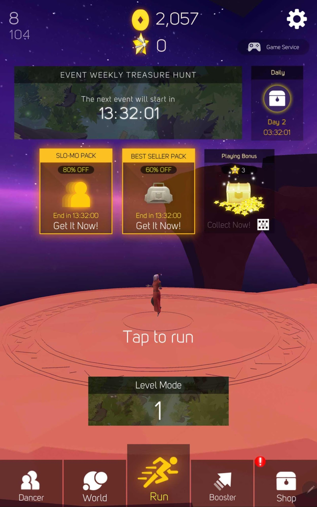 Sky Dancer: Seven Worlds for Android