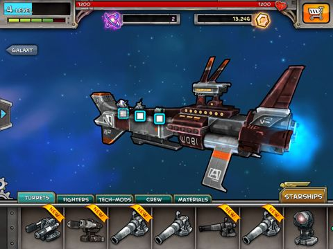 Strategy games: download Plunder Nauts to your phone