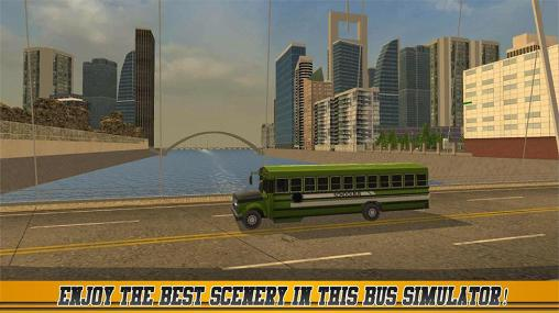 High school bus driver 2 Screenshot