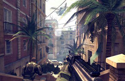 Скріншот Modern Combat 4: Zero Hour на iPhone