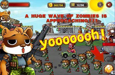 El extraordinario mapache contra los zombies