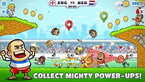 Arcade: Lade Super Party Sports: Fußball auf dein Handy herunter