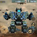 Futuristic war robots Symbol