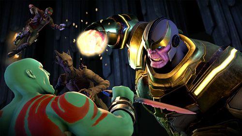 Gardiens de galaxie de Marvel