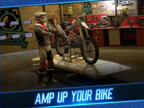 截图摩托车越野赛在iPhone
