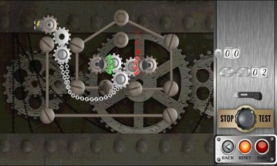Logic games Gears Of Time for smartphone