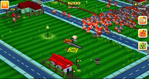 Action Zombie bloxx for smartphone