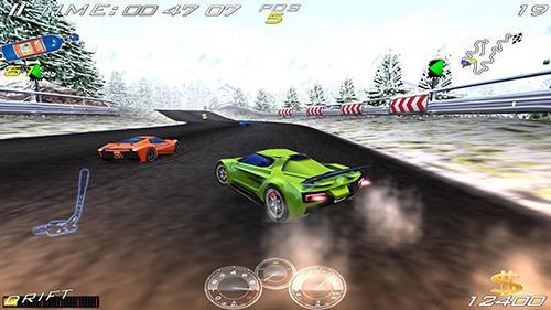 Rennspiele Fast speed race für das Smartphone