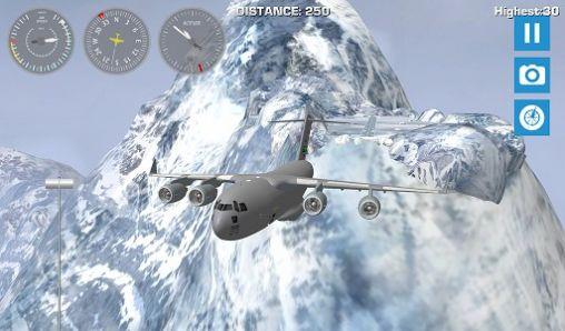 de simulateur Airplane mount Everest pour smartphone