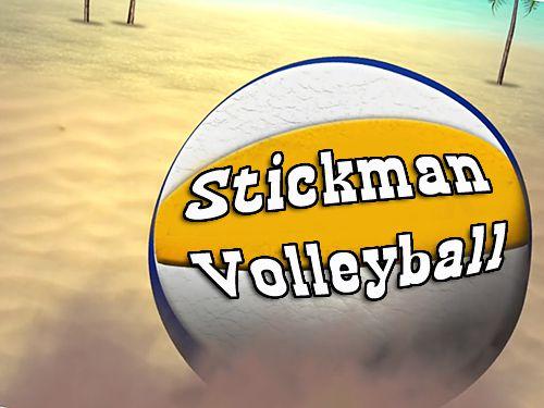 logo Stickman Volleyball
