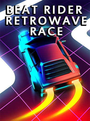 Beat rider: Retrowave race Screenshot