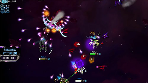 Pocket starships: Star trek borg invasion für Android