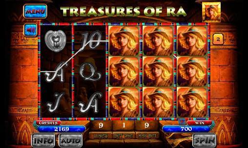 Treasures of Ra: Slot auf Deutsch