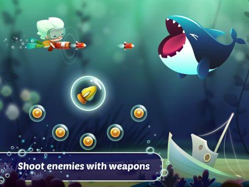 Arcade-Spiele Tiny diver für das Smartphone