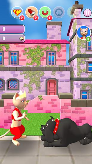 Princess cat Lea run Screenshot