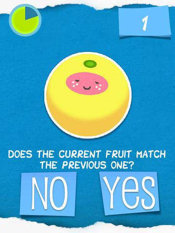 Duselige Frucht? auf Deutsch
