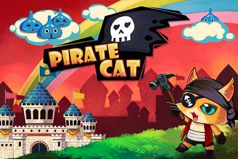 logo Pirate cat