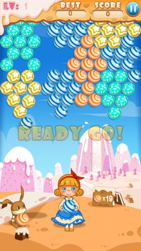 Arcade Bubble candy für das Smartphone