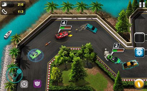 Rennspiele Car racing: Drift death race für das Smartphone