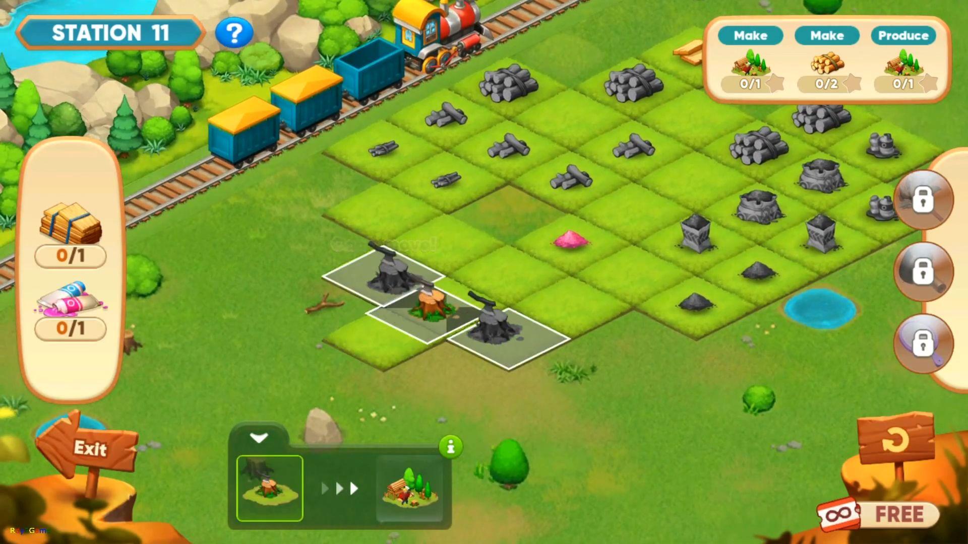 Merge train town! para Android