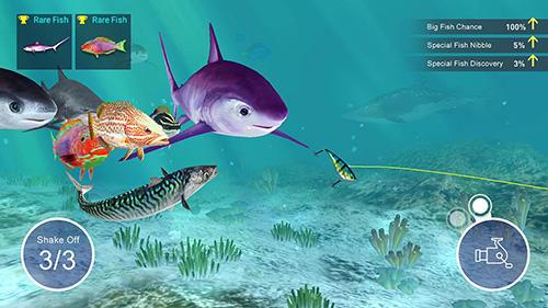 Fisch-Schlag für iPhone