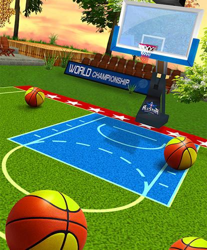 Pocket basketball: All star auf Deutsch