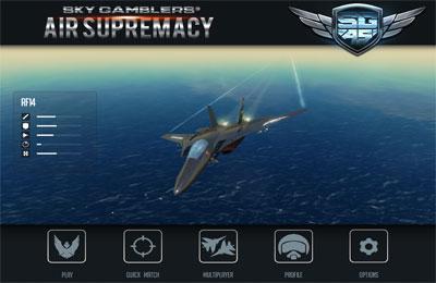 Sky Gamblers: Air Supremacy for iPhone