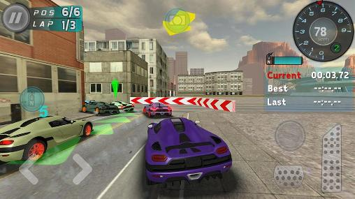 Hot racer for Android