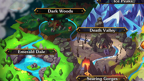 Battle rams: Clash of castles. Action RPG moba Screenshot
